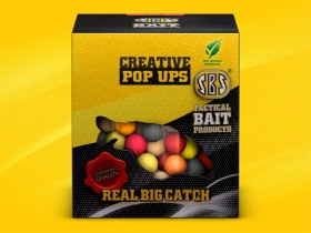 Creative Pop Ups with 4 flavours included