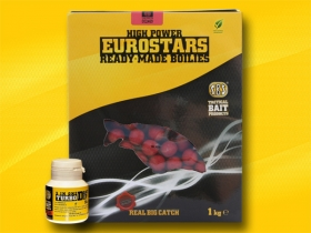 Eurostar Ready-Made Boilies + 50 ml 3 in One Turbo Bait Dip